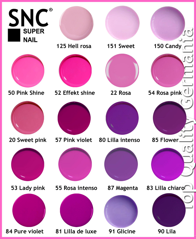 gel color uv 5ml tonalit 224 rosa viola ricostruzione unghie